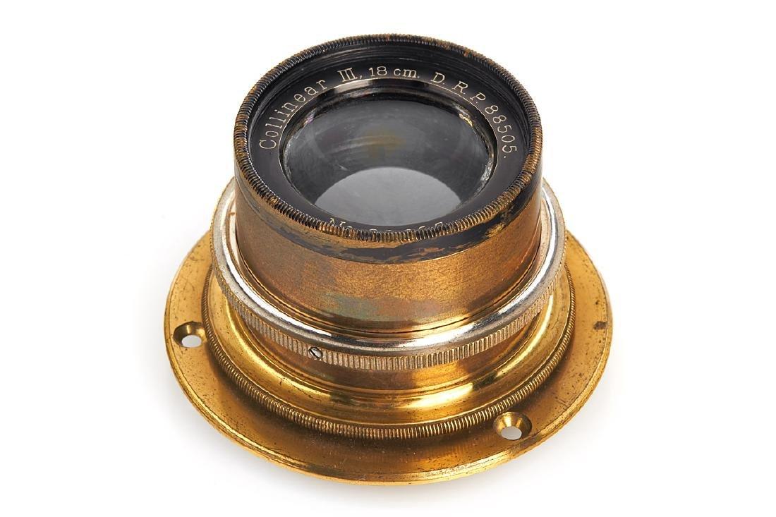 Voigtländer Collinear III 6.8/18cm, 1905, no. 82653