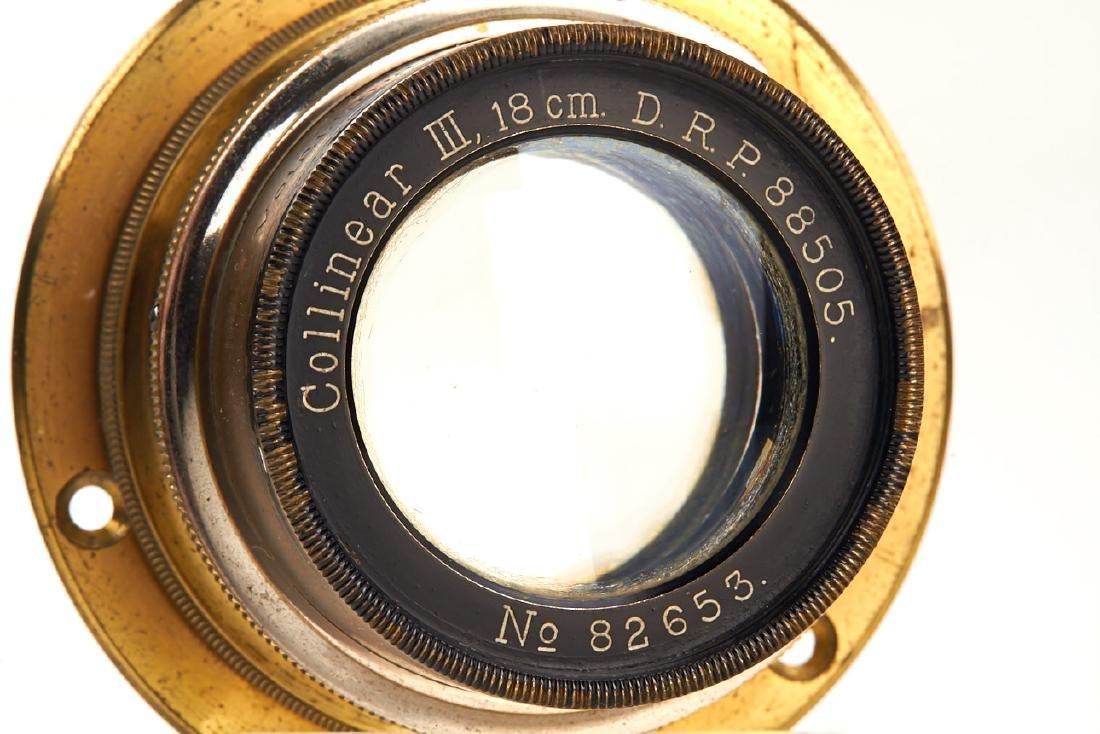 Voigtländer Collinear III 6.8/18cm, 1905, no. 82653 - 3