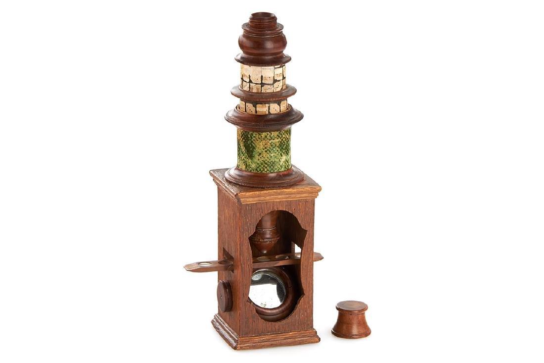 Nuremberg Sentry-Box style Microscope, c.1800
