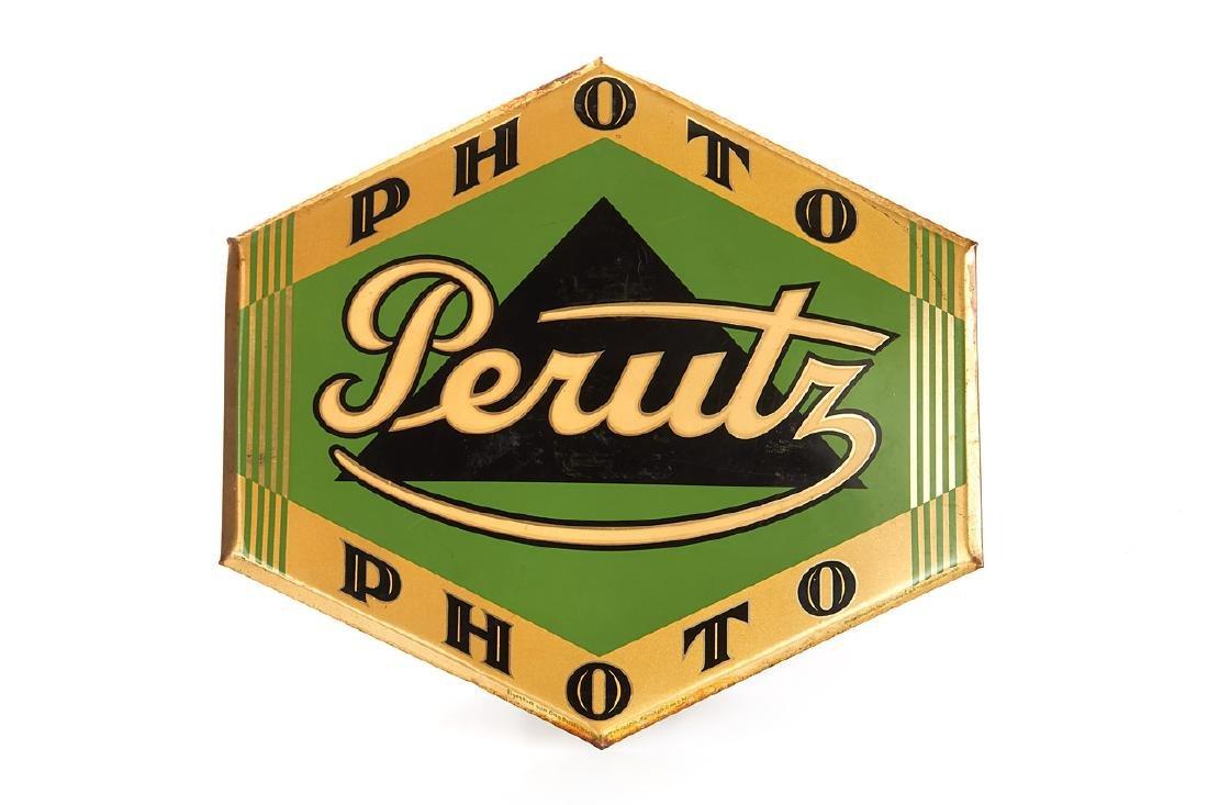 Perutz Photo Dispay Sign, c.1955