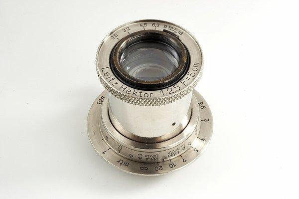 85: Leica: Hektor  2.5/5cm Nickel