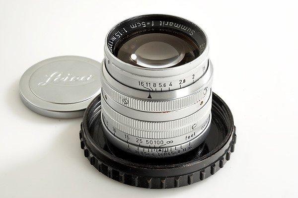 89: Leica: Summarit  1.5/5cm