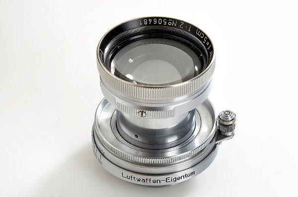 90: Leica: Summitar  2/5cm  Luftwaffen-Eigentum