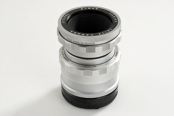 95: Leica: Elmar  3.5/65mm chrome