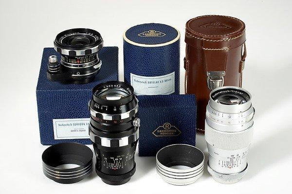 448: Rodenstock  Exakta lenses (various)