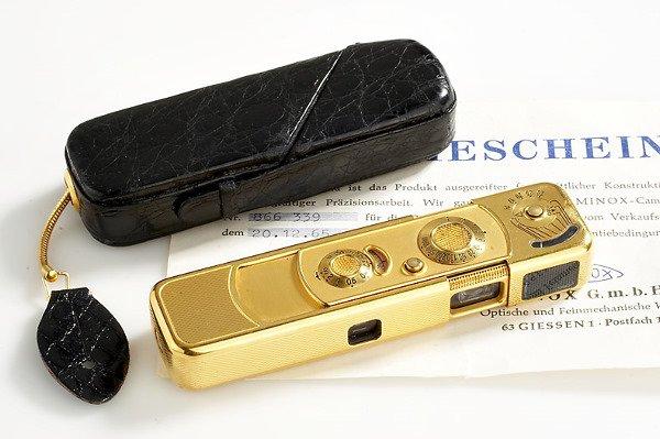 464: Minox  B Gold