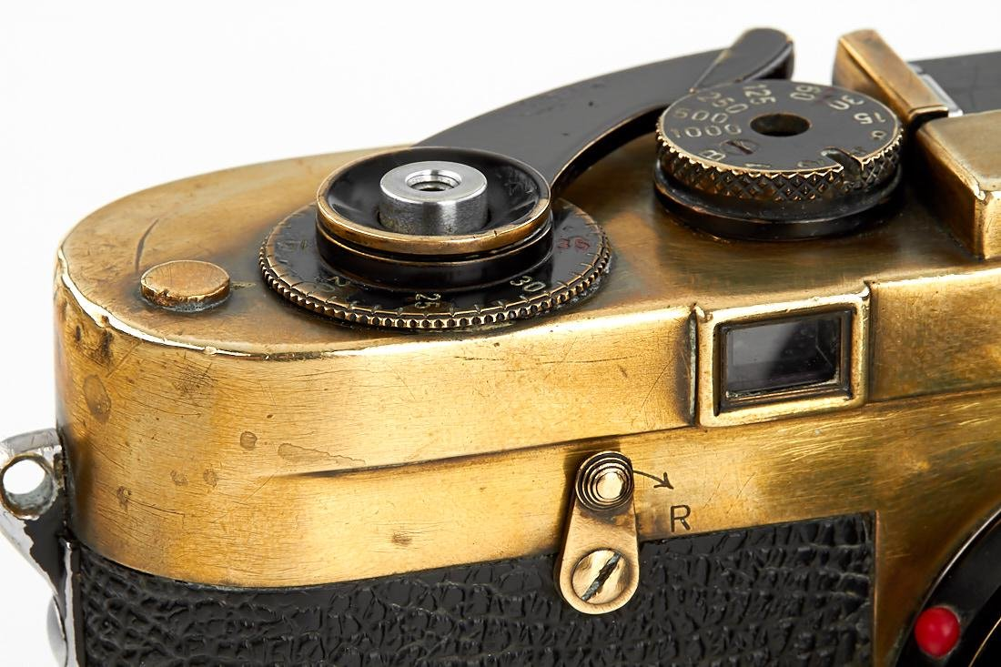 Leica MP black paint 'Gérard Bois', 1957, no. MP-47 - 3