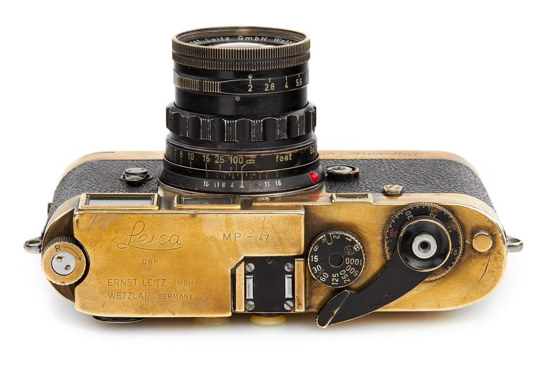 Leica MP black paint 'Gérard Bois', 1957, no. MP-47 - 7