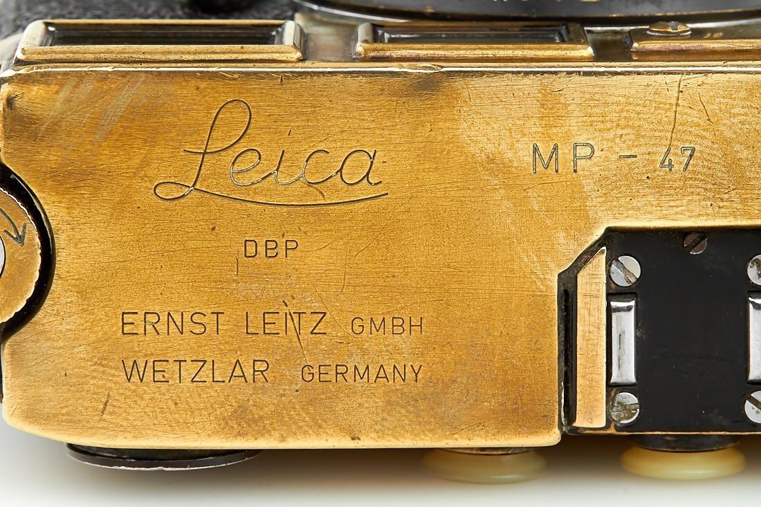 Leica MP black paint 'Gérard Bois', 1957, no. MP-47 - 9