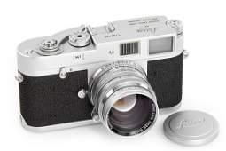 Leica M1 + Summarit 1.5/5cm, 1964, no. 1102496