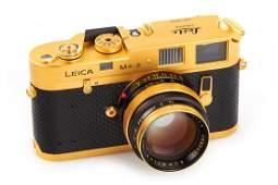 Leica M4-2 Gold 'Oskar Barnack', 1980, no. 1528167