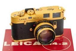 Leica M4-2 Gold 'Oskar Barnack', 1980, no. 1528362