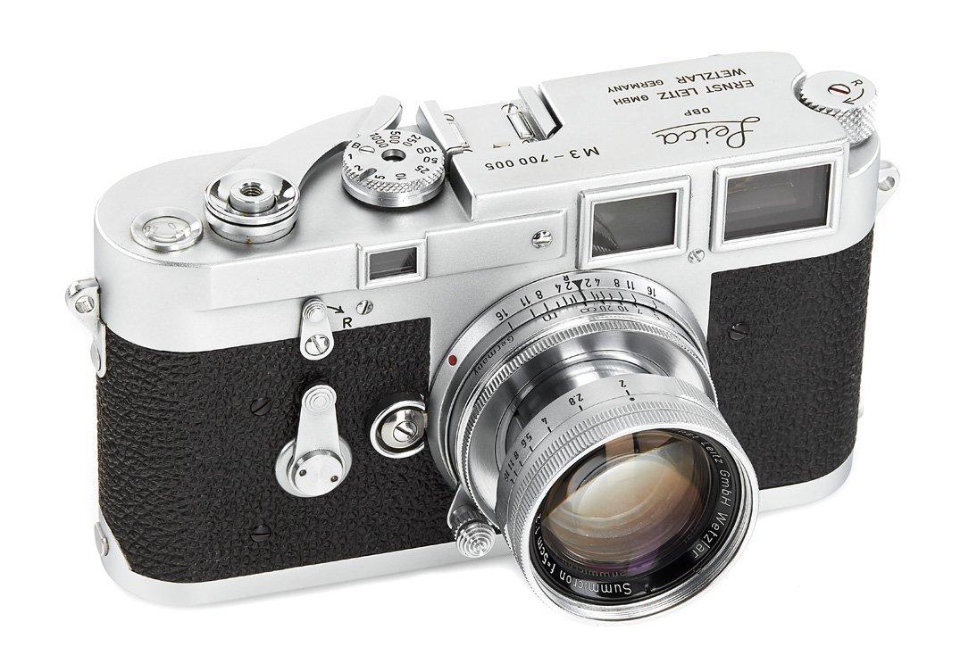 Leica M3 no.700005
