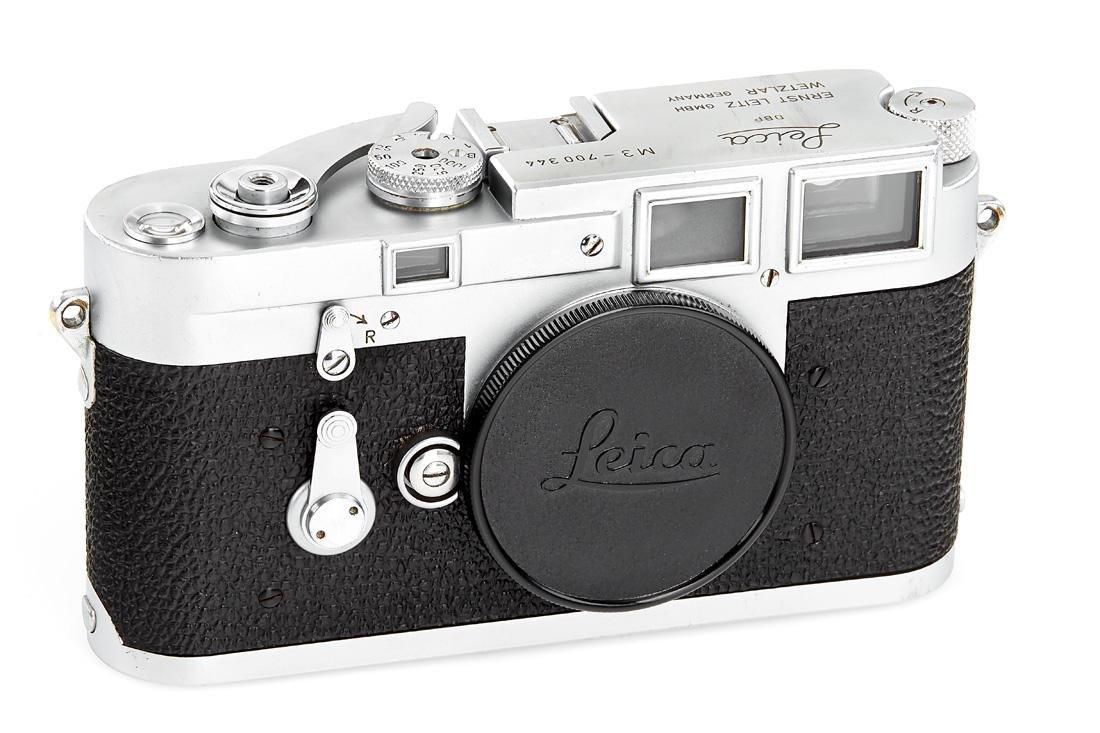Leica M3 chrome Double Stroke no.700344