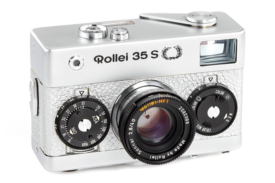 Rollei 35S Silver