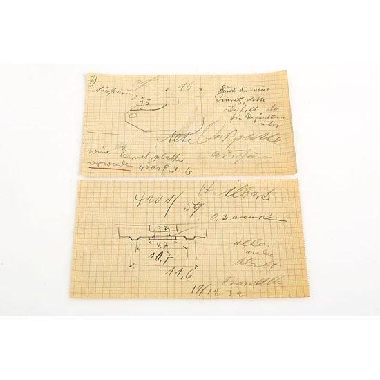 1: Leica: O. Barnack  Design Drawings (various)