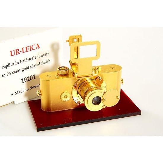 2: Leica: Ur-Leica  GOLD Replica