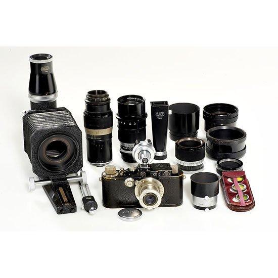 17: Leica: III Mod.F black outfit
