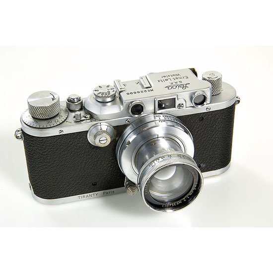 20: Leica: III Mod.F chrome Tiranty Paris