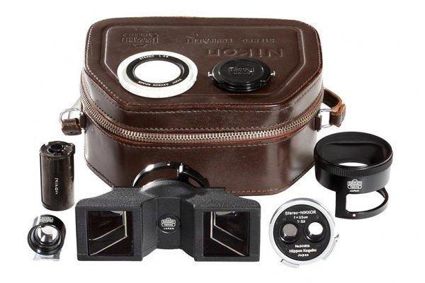 434: Nikon Stereo-NIKKOR 3.5/3.5cm outfit