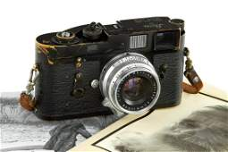 Leica M2 black paint 'Walker Evans' *