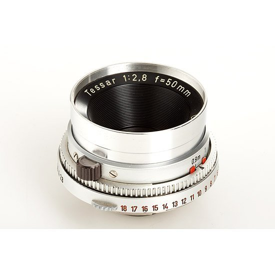 728: Carl Zeiss  Tessar 2.8/50mm Prototype