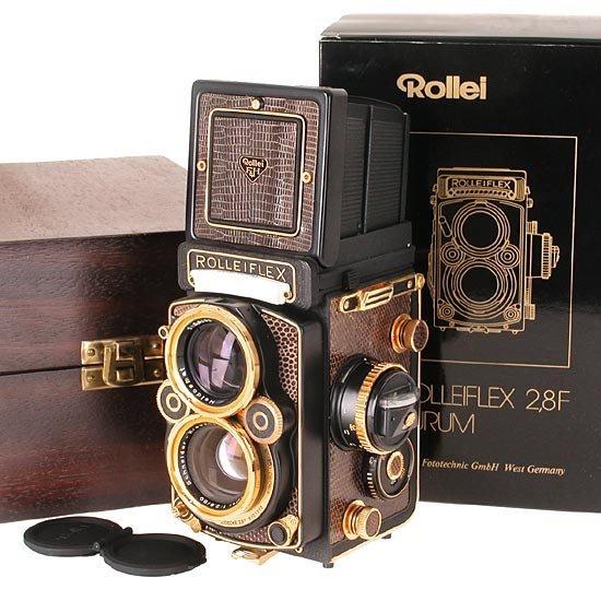 515: ROLLEI: Rolleiflex  2.8F Aurum