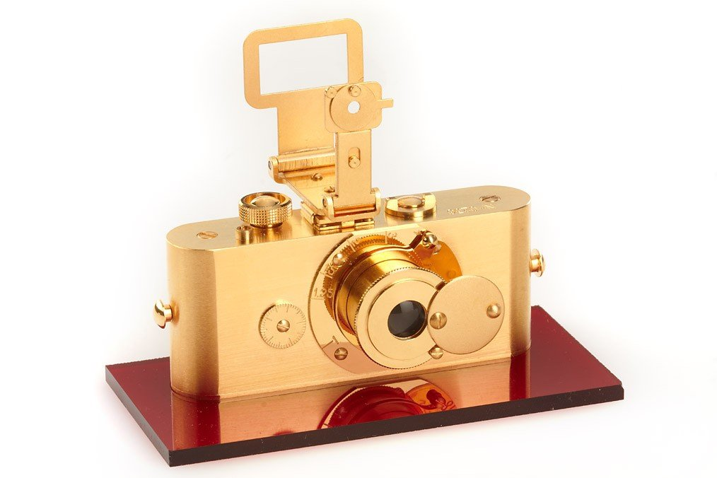 1: Ur-Leica  GOLD Replica