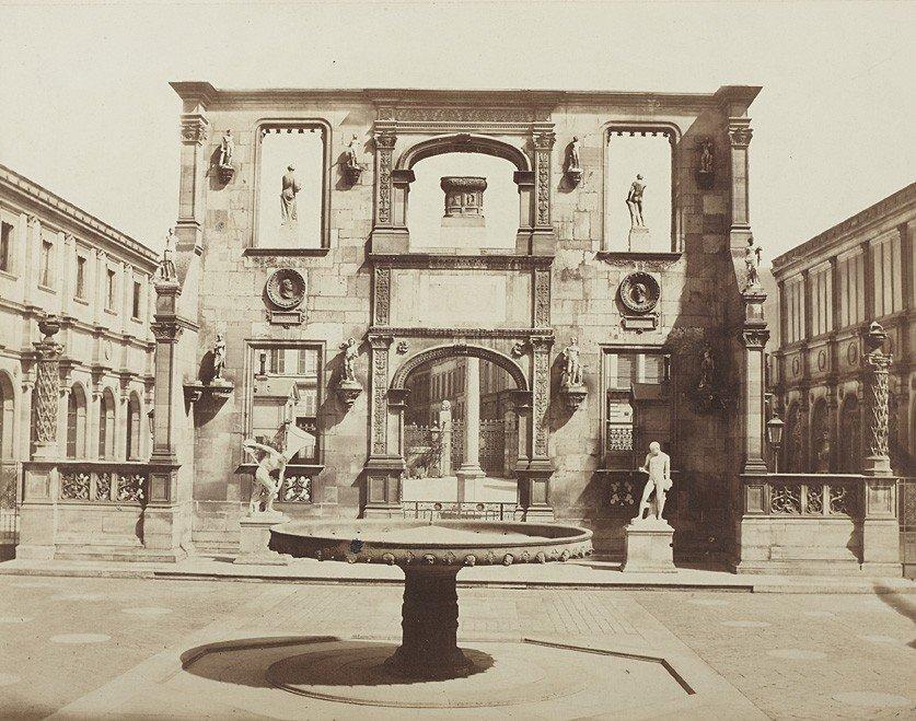 1002: Édouard Denis Baldus , Porte de Gaillon