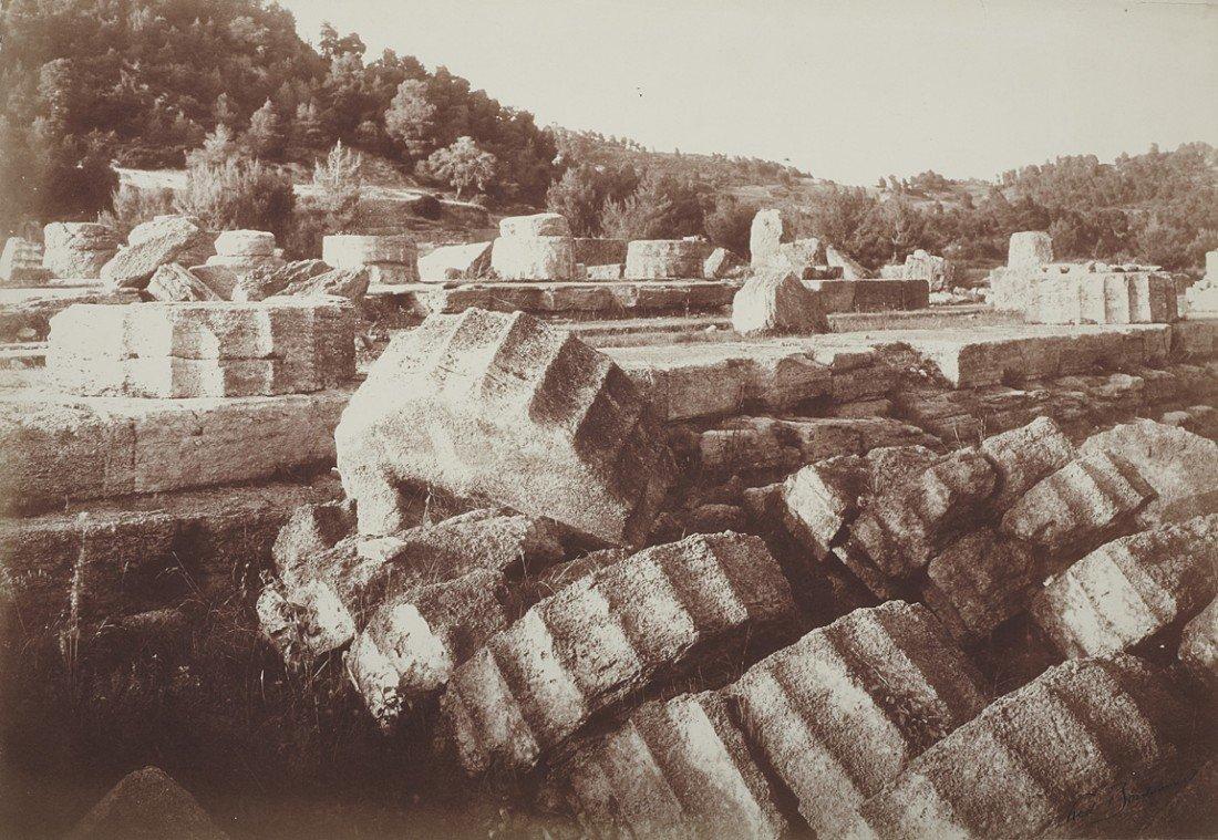 1013: Frédéric Boissonnas, Zeus Temple
