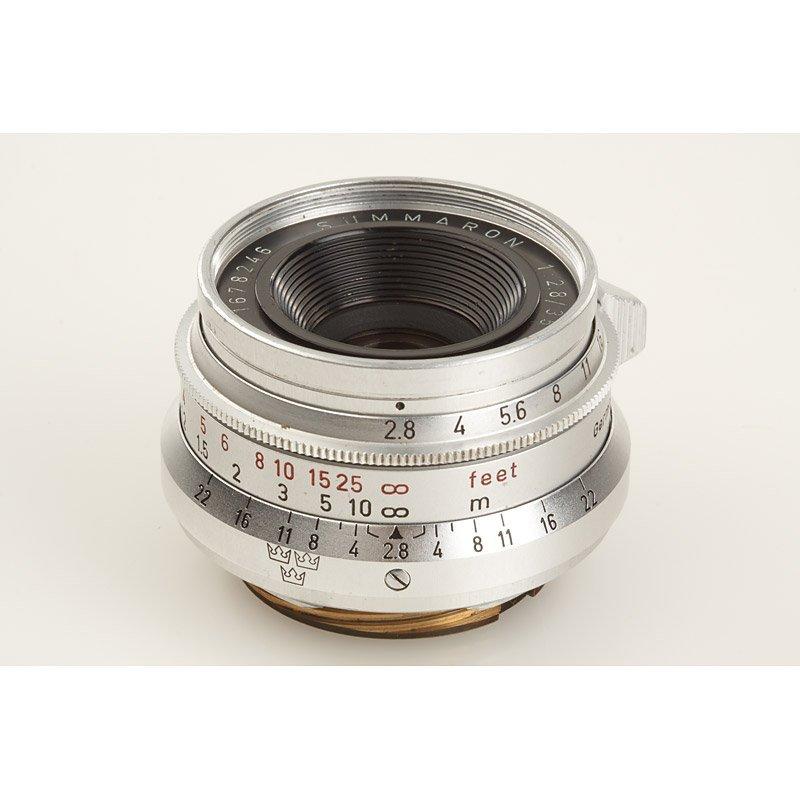 79: Summaron  2.8/35mm '3 Crowns' , SN: 1678246, 1960
