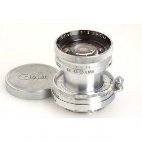Fuji Cristar 2/50mm, SN: 411272, C.1954