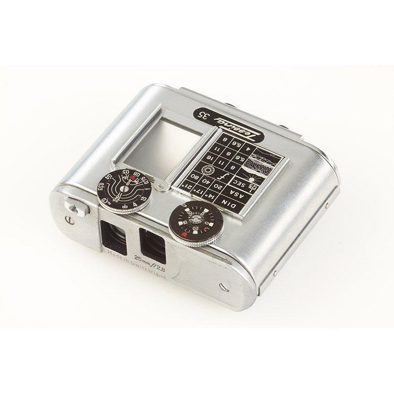 480: Concava Tessina 35 STASI Spy Camera, SN: 266563, c - 3