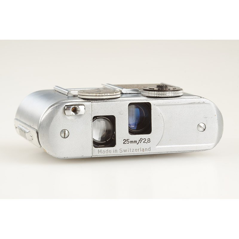 480: Concava Tessina 35 STASI Spy Camera, SN: 266563, c - 4