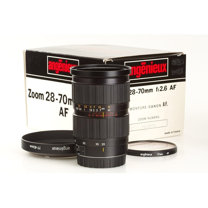 600: Angenieux Zoom 2.6/28-70mm, SN: 1550976, 1994