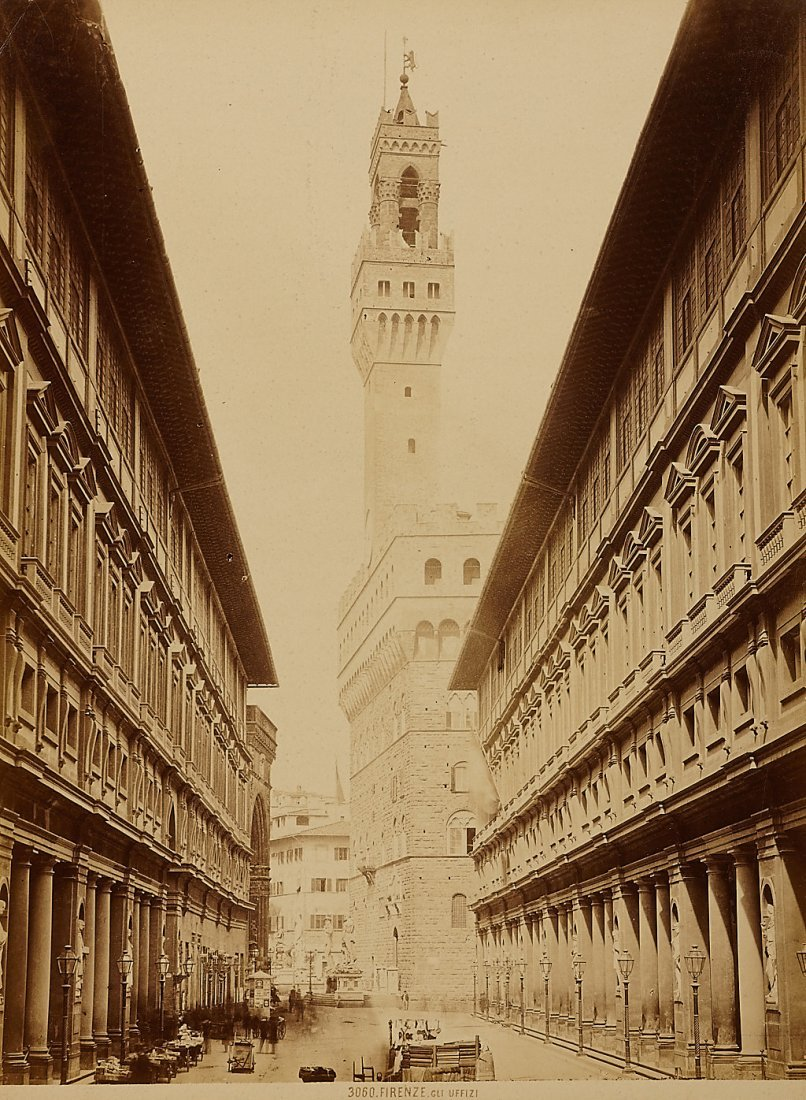 10: Anonymous Photographer Albumen Print Firenze