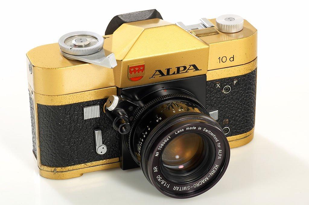 67: Alpa 10d gold, SN57402, 1971