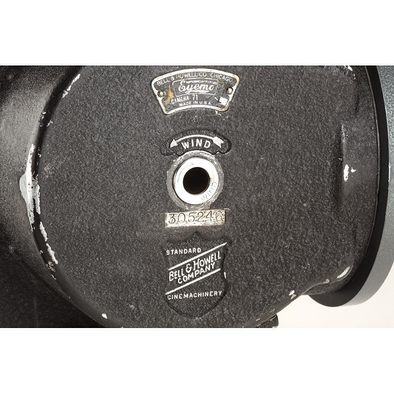 554: Bell & Howell Eyemo Camera 71, no. 305246 - 6