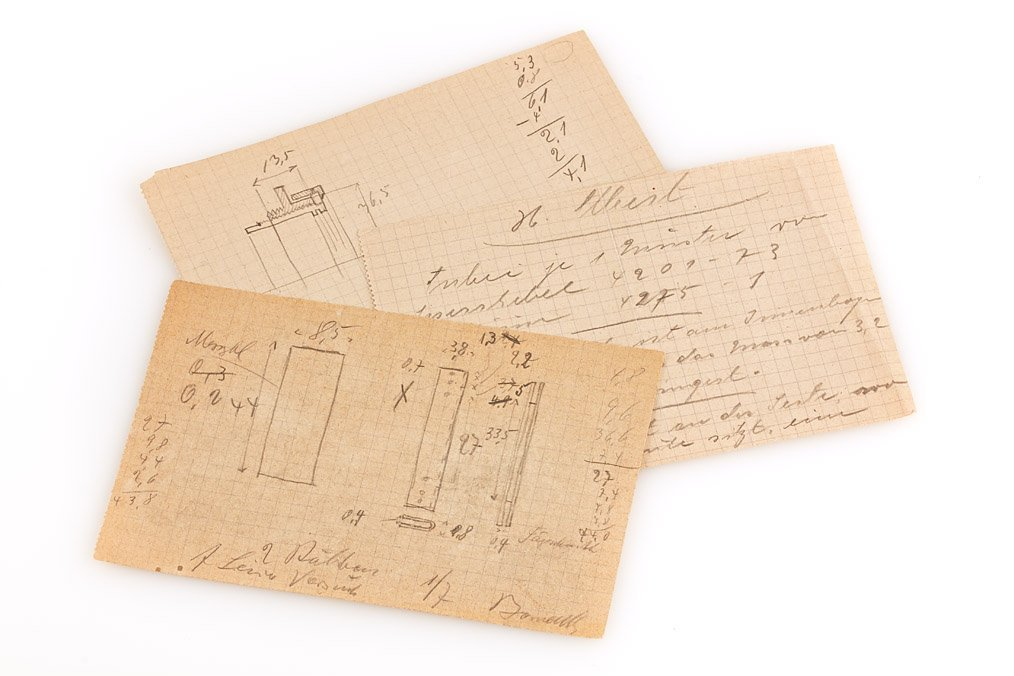 O. Barnack  Design Drawings (various), c.1930