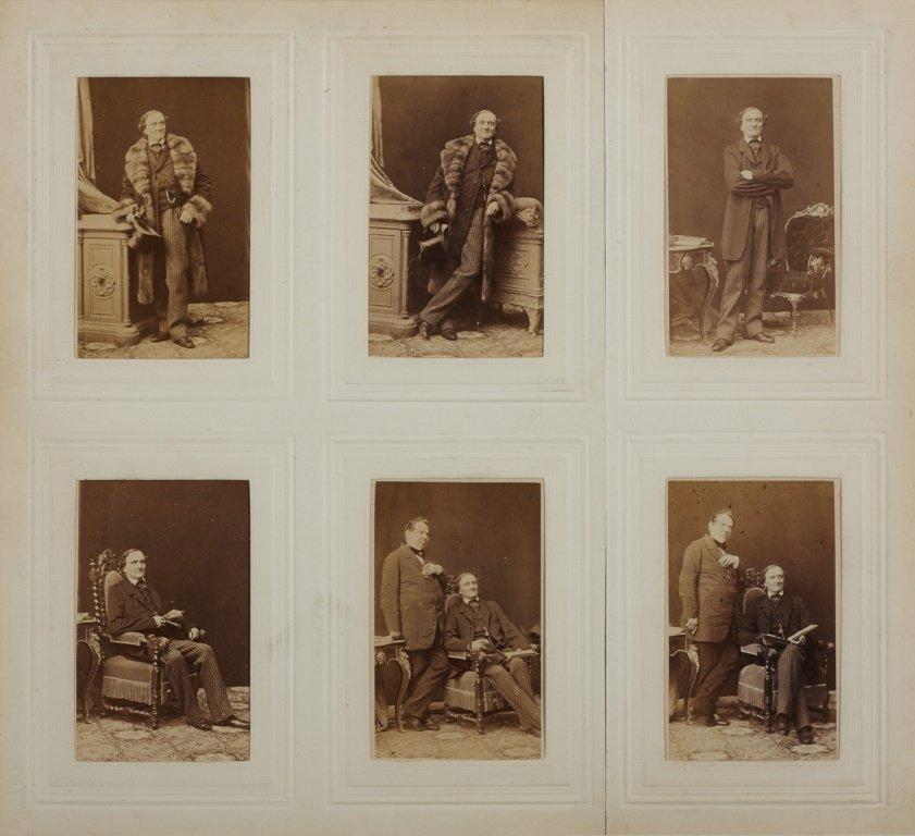 LUDWIG ANGERER (1827–1879) Johann Nepomuk Nestroy Vienn