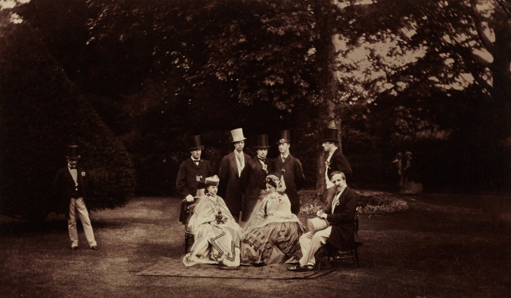 CAMILLE SILVY (1834–1910) Group of Her Royal Highness t