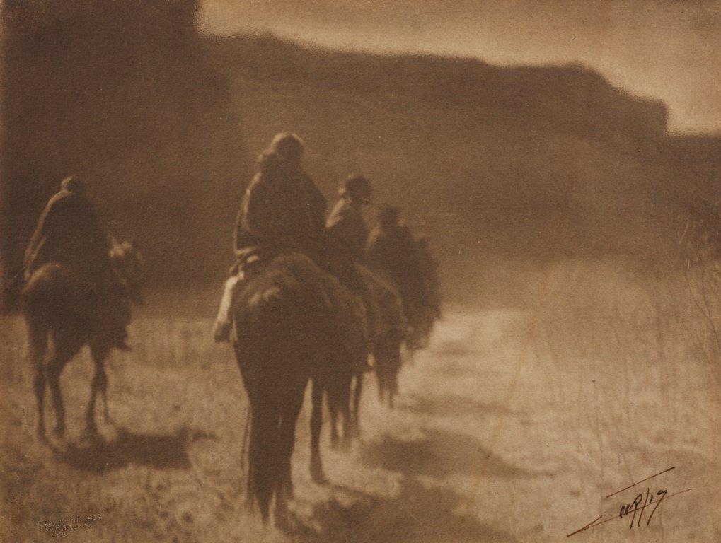 EDWARD S. CURTIS (1868–1952) 'The Vanishing Race - Nava