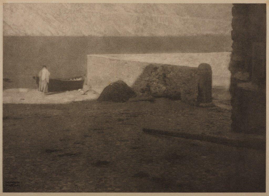 HEINRICH KÜHN (1866–1944) On the shore, 1911