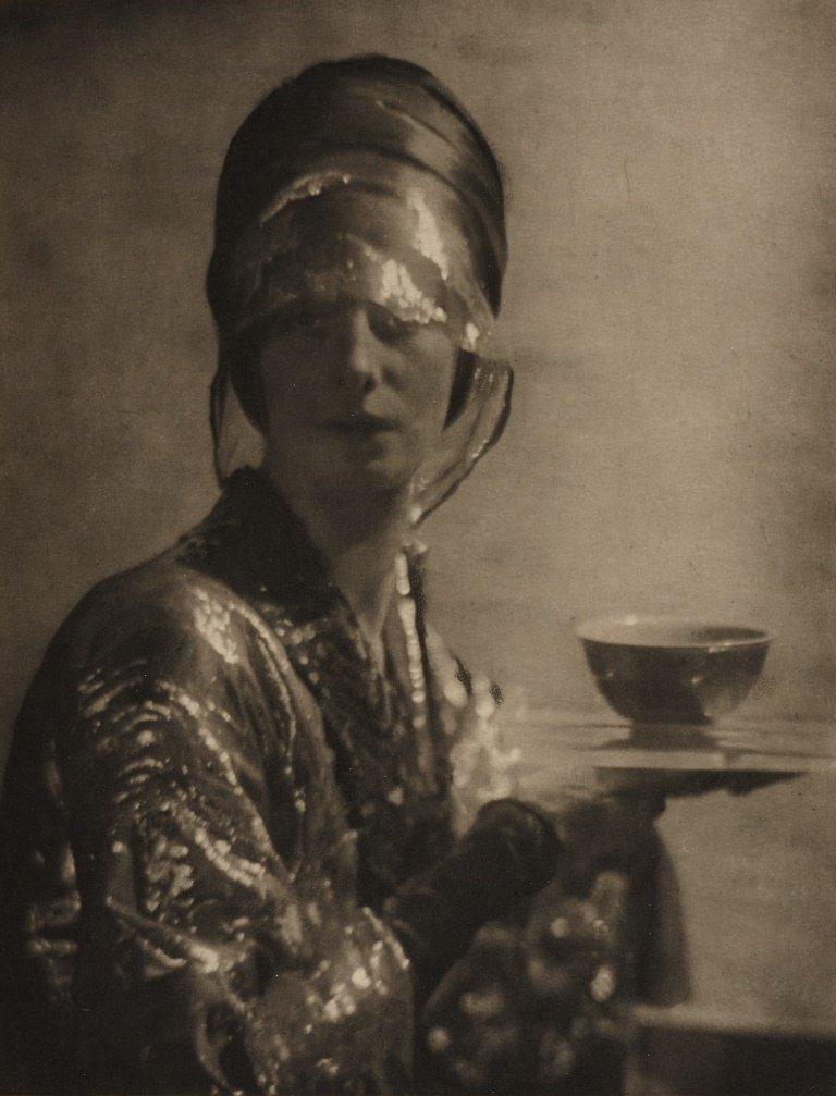 ADOLPH DE MEYER (1868–1946) 'The cup', 1912