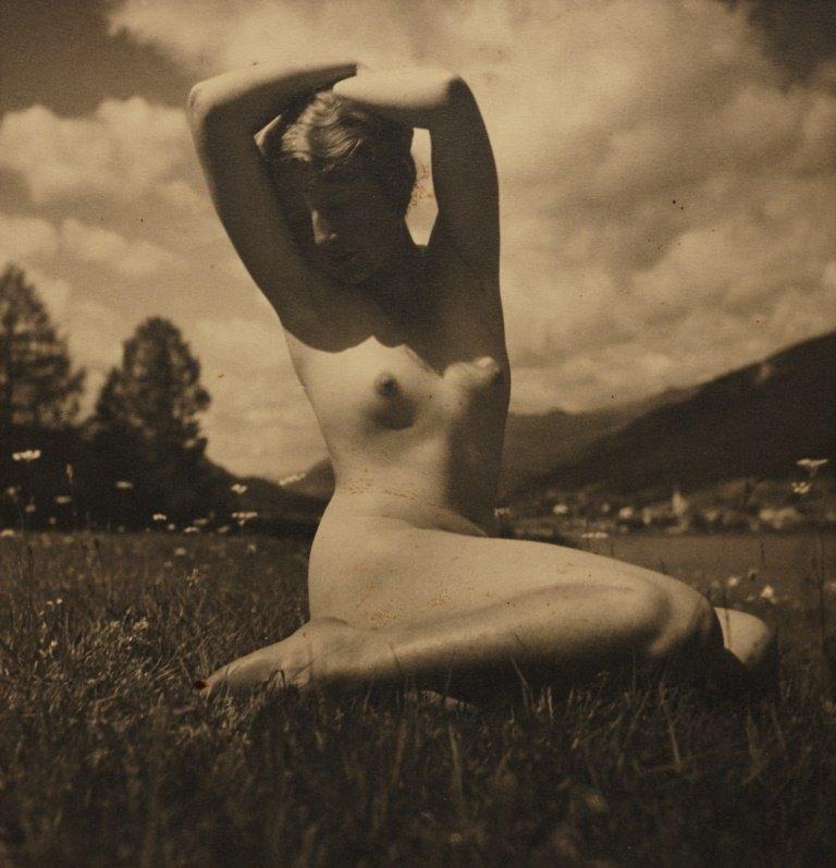 RUDOLF KOPPITZ (1884–1936) Nude in the Meadow, c. 1923