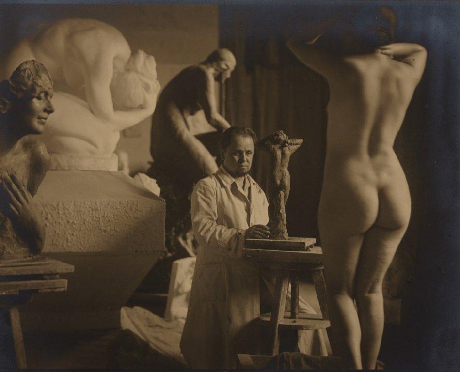 RUDOLF KOPPITZ (1884–1936) The sculptor André Roder (19