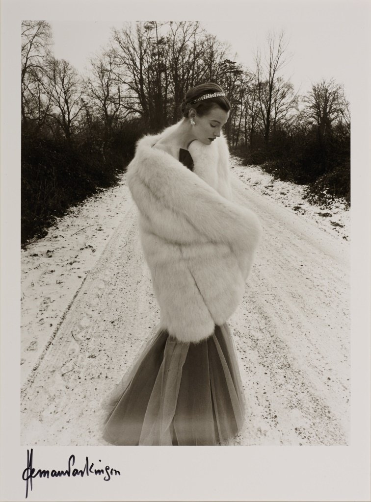 NORMAN PARKINSON (1913–1990) Snow and Fur, 1949