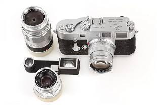M3 chrome Double Stroke 'Leica-Technik' outfit