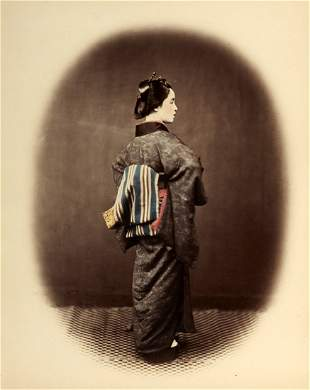FELICE BEATO (1832-1909) Lastentr�ger / Hill Coolie & G