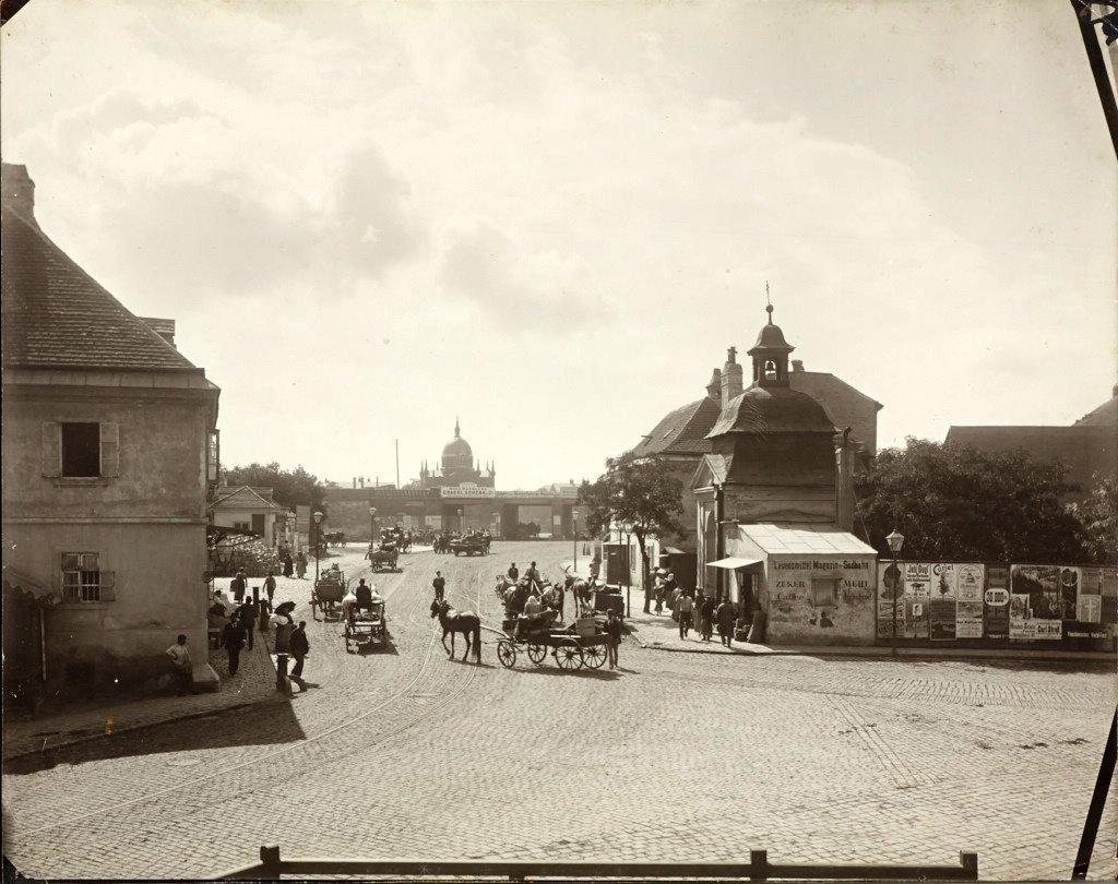 MORIZ NÄHR (1859–1945) Matzleinsdorfer Platz und Straße